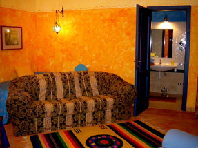 Mediterranean colours-la dolce vita, orange room.