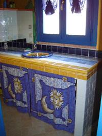 La dolce vita lipari - bath-room detail.